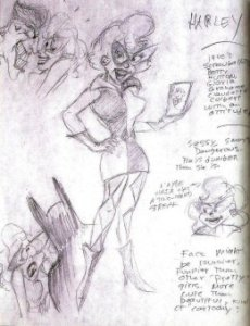 Harley's First Design - By Paul Dini